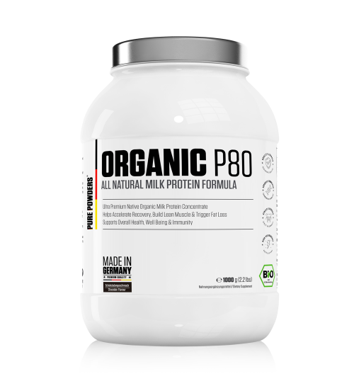 ORGANIC P80 Chocolate Flavour 1000g