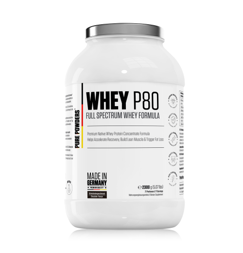WHEY P80 Chocolate Flavour 2300g