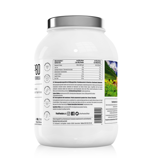 WHEY P80 Chocolate Flavour 908g