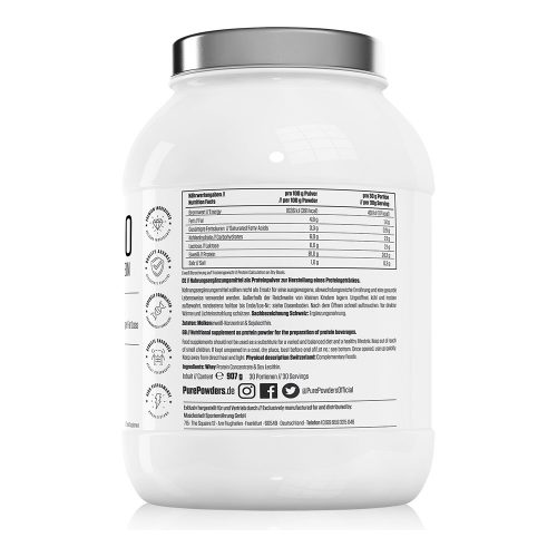 Pure Powders® WHEY P80 Unflavoured